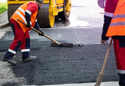Integrated Road Repair System Work