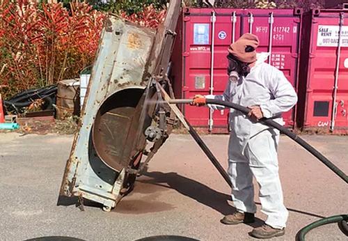 Vapour Blasting System (Green Technology)
